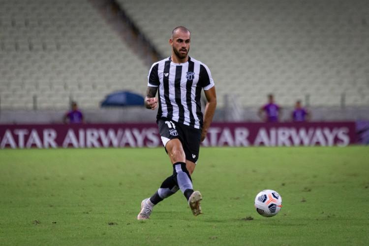 Felipe Vizeu tem 32 jogos e cinco gols pelo Ceará (Foto: Fausto Filho / Ceará SC)