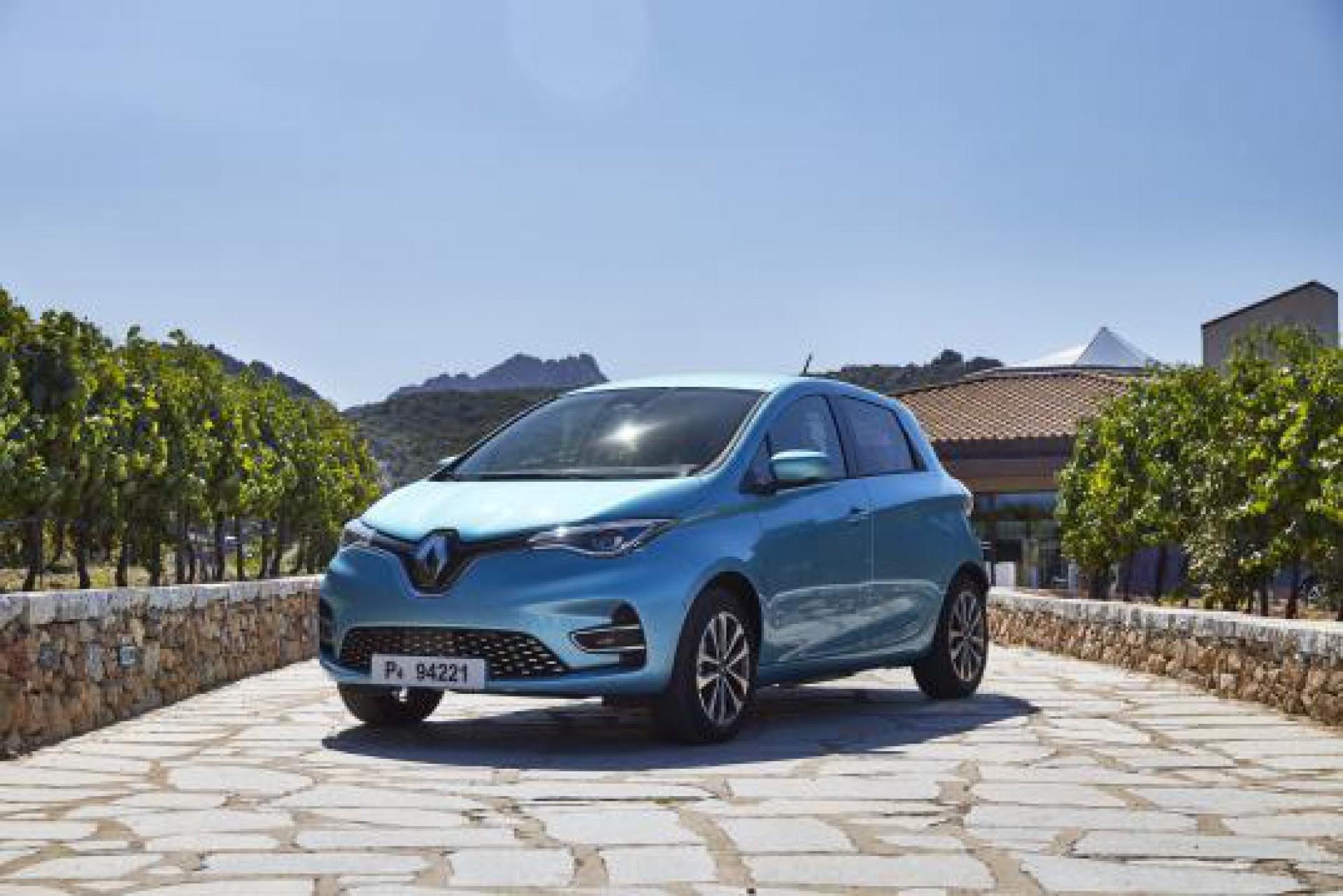 Novo Renault Zoe E-Tech começa em R$ 204.990