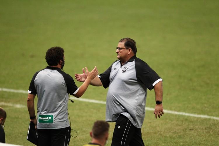O Ceará volta suas atenções para a decisão da Copa do Nordeste de sábado, 1, contra o Bahia, na Arena Castelão  (Foto: FABIO LIMA/O POVO)