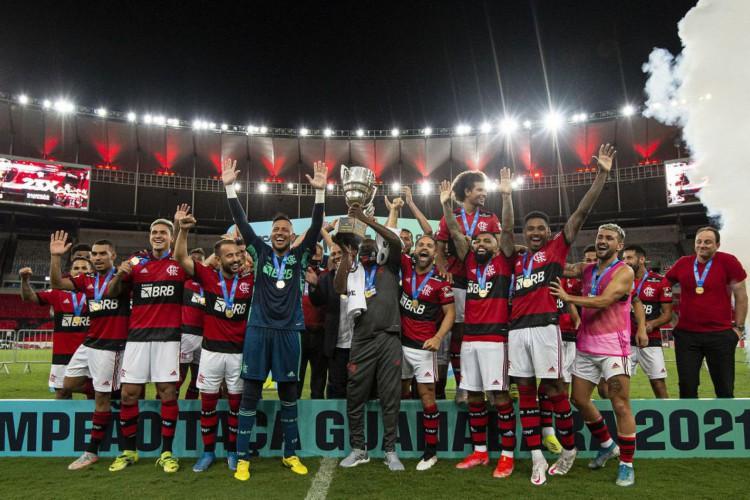 Flamengo é campeão da Taça Guanabara (Foto: )