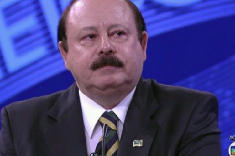 Levy Fidelix em debate na eleição presidencial de 2014 (Foto: REPRODUÇÃO/TV)