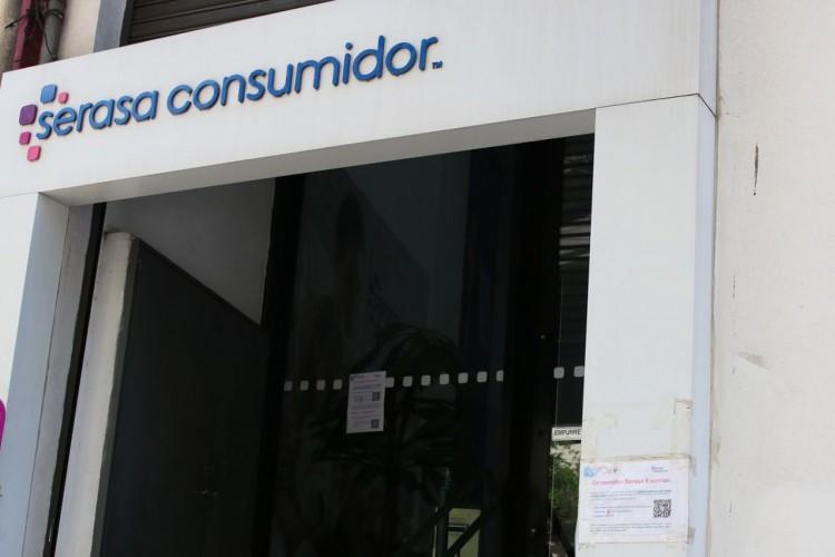 São Paulo - Fachada do Serasa na rua Antônio Carlos, Bela Vista, região central. (Foto: Rovena Rosa/Agência Brasil)
