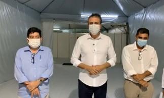 o Hospital Regional do Cariri agora conta com 131 leitos para Covid-19