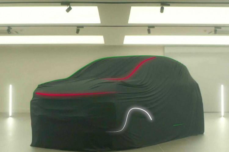 Silhueta do Progetto Fiat 363, divulgada em vídeo pela montadora (Foto: Divulgação/Fiat)