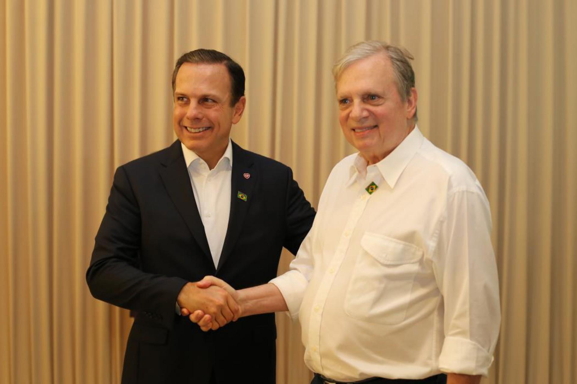 João Dória e Tasso são dois nomes do PSDB cotados para disputar a Presidência em 2022 (Foto: FÁBIO LIMA)