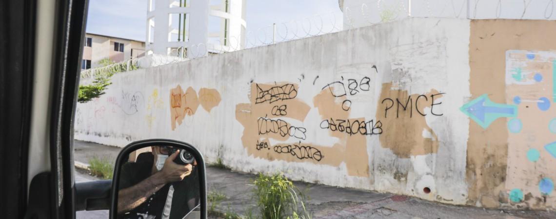 Fortaleza, Ce, BR 27.04.21  Facções criminosas estão monopolizando o comércio de Internet e gás de cozinha no residencial Cidade Jardim 2 no grande José Walter (Fco Fontenele/O POVO) (Foto: FCO FONTENELE)