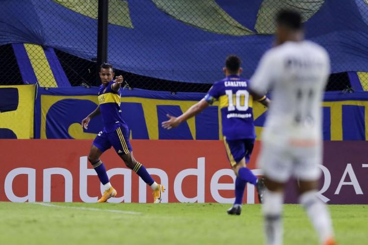 Libertadores: Santos é superado pelo Boca na Bombonera (Foto: )