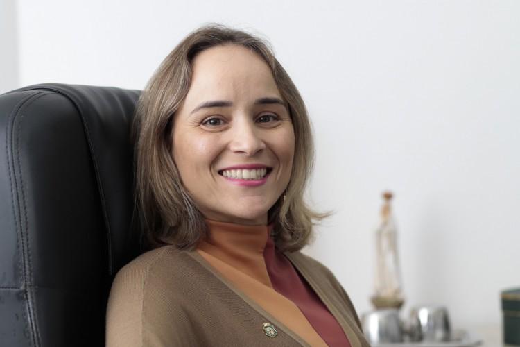 Fernanda Pacobahyba, titular da Secretaria da Fazenda do Ceará (Sefaz/CE) (Foto: Tatiana Fortes/O POVO/15.07.2019)