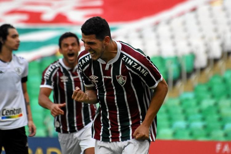 Hoje, quarta-feira, 28 de abril (28/04), às 21 horas, Independiente Santa Fe e Fluminense se enfrentam pela Libertadores 2021, em jogo que terá transmissão ao vivo. Confira onde assistir e a provável escalação (Foto: Mailson Santana/Fluminense FC)