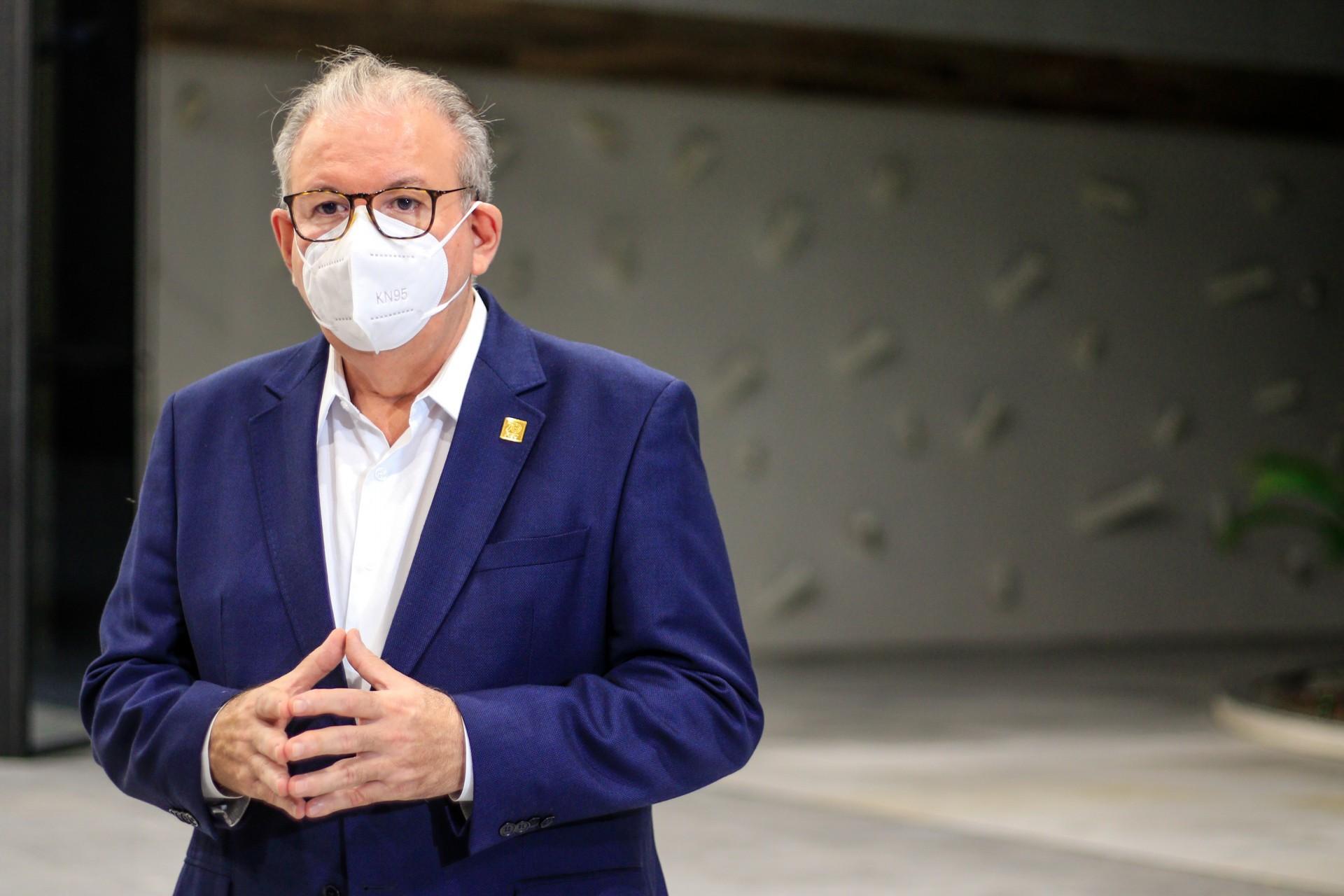 Ricardo Cavalcante é presidente da Fiec (BARBARA MOIRA/ O POVO)