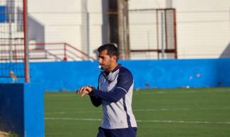 Auxiliar técnico Leonardo Porto em treino do Fortaleza no Centro de Excelência Alcides Santos, no Pici