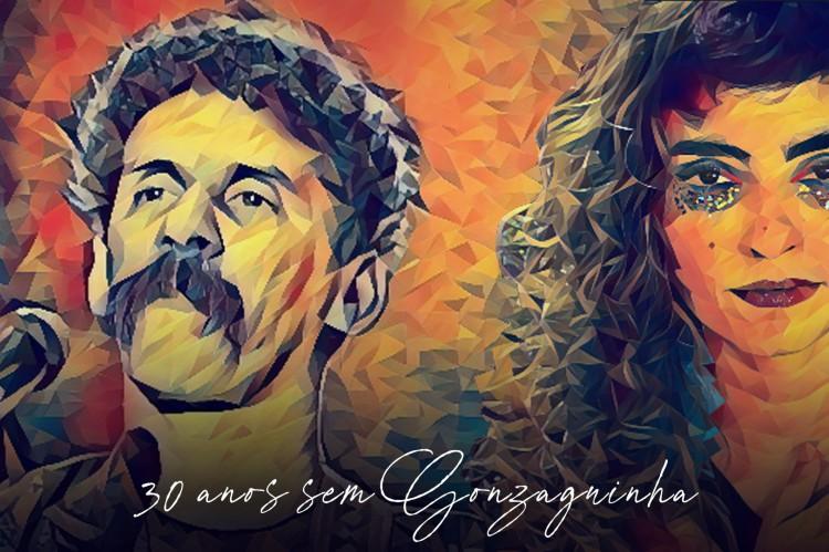 Bruna Caram realiza homenagem a Gonzaguinha em suas redes sociais