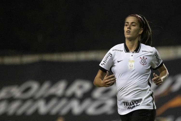 Corinthians atropela Inter e continua perfeito no Brasileiro Feminino (Foto: Lucas Figueiredo/CBF)