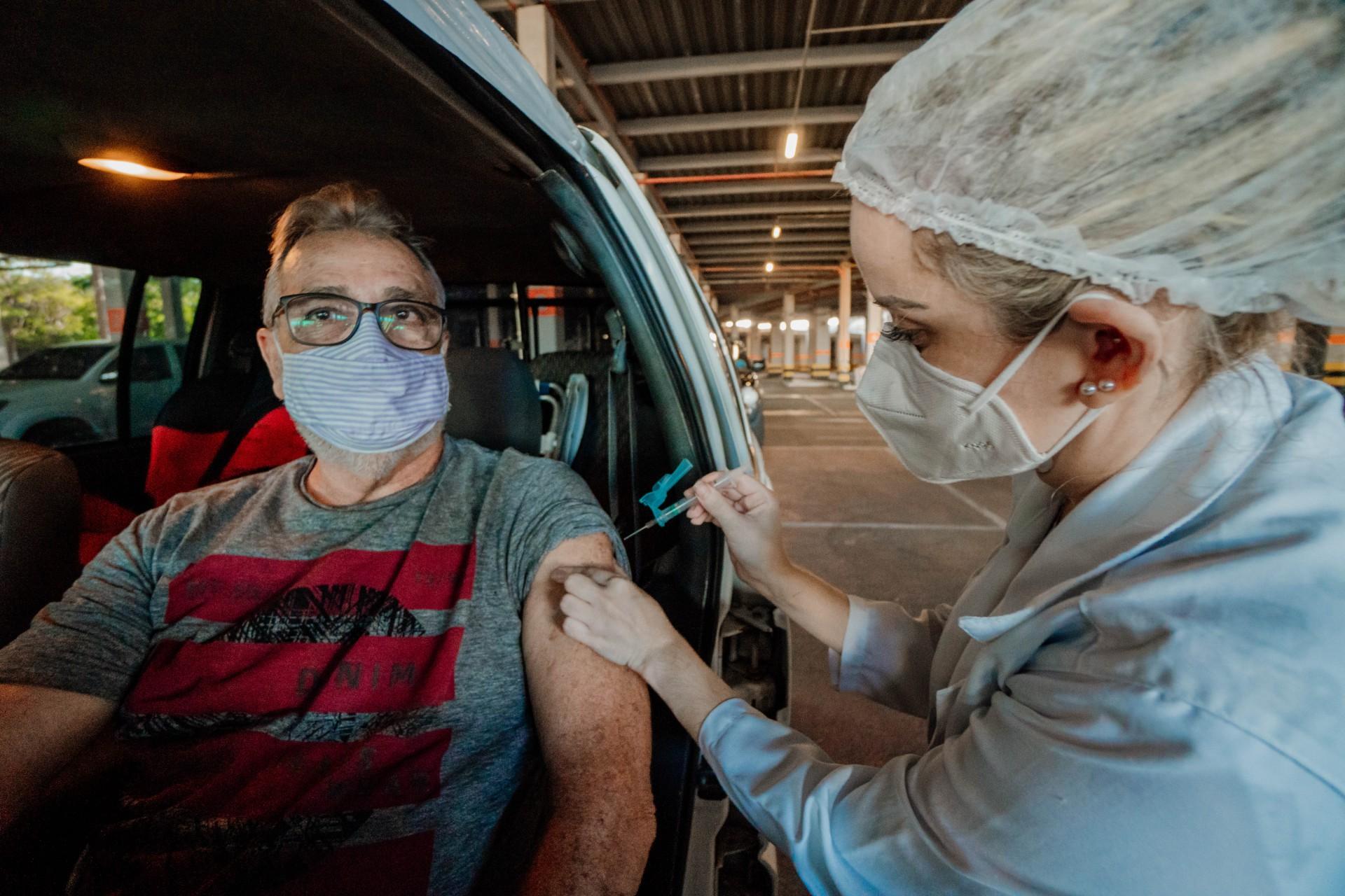 Hora da vacina