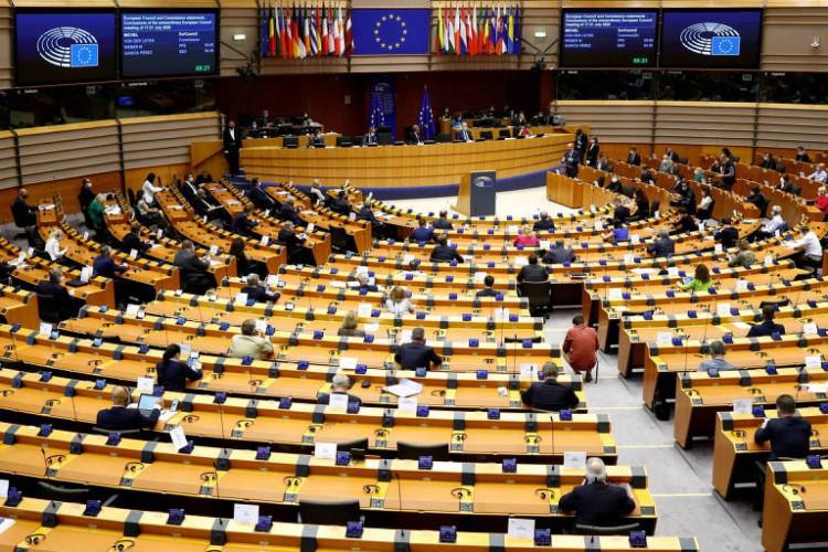 Críticas ao presidente Bolsonaro dominaram o debate do Parlamento Europeu desta quinta-feira, 29. (Foto:  Francois Lenoir/Reuters)