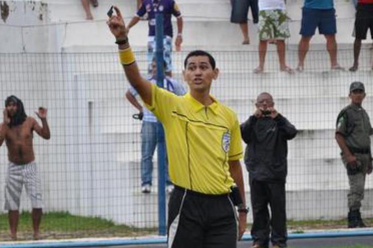 Antõnio Dib Moraes de Sousa, do Piauí, será o árbitro do jogo de ida da final da Copa do Nordeste 2021, entre Bahia e Ceará (Foto: ANAF)