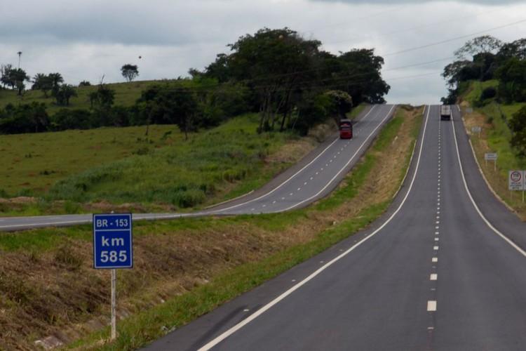 rodovia BR 153 (Foto: Divulgação DNIT)
