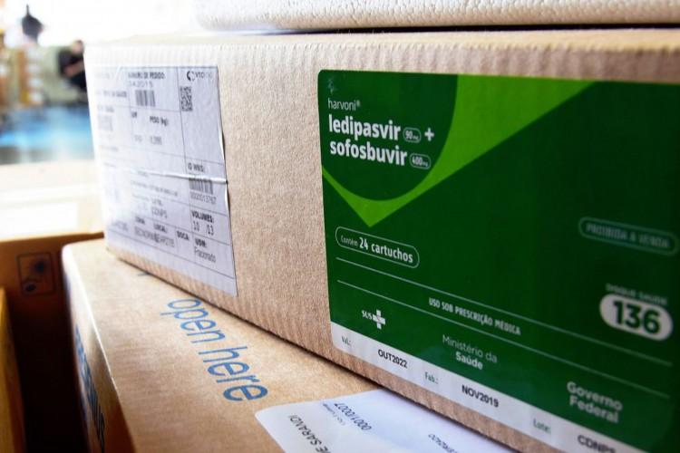 lote de medicamentos que integram o chamado kit de intubação  (Foto: Américo Antonio/Sesa)