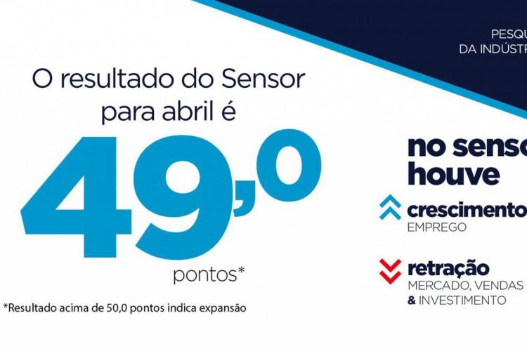 Atividade industrial paulista fechou em 49 pontos em abril, diz Fiesp (Foto: )