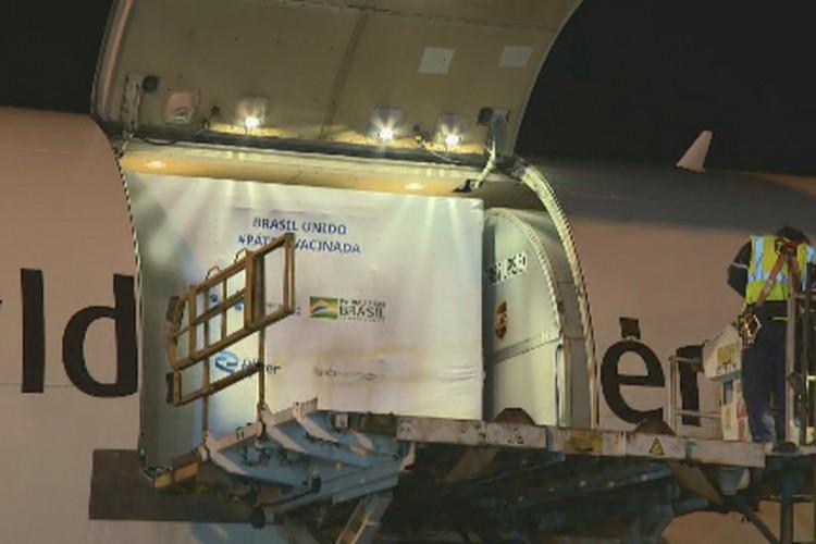 O desembarque envolveu cerca de 120 profissionais  (Foto: Vanderlei Duarte/EPTV/Reprodução)