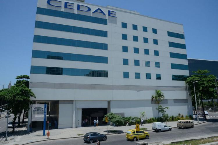 Fachada do edifício-sede da Cedae (Foto: Tomaz Silva/Agência Brasil)