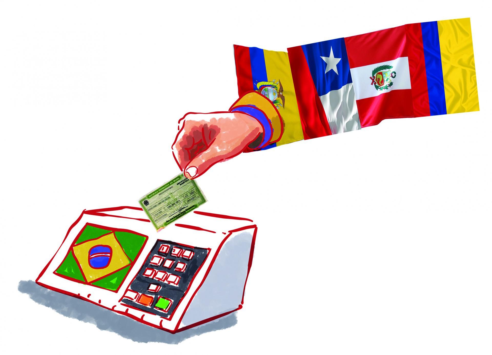 Os contornos do novo mapa político regional