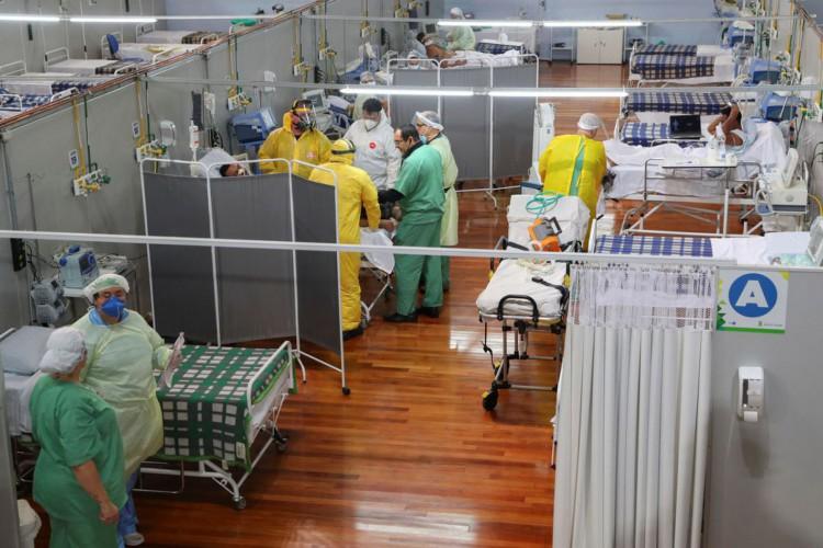 Covid-19: Brasil tem 403,7 mil mortes e 14,6 milhões de casos (Foto: )