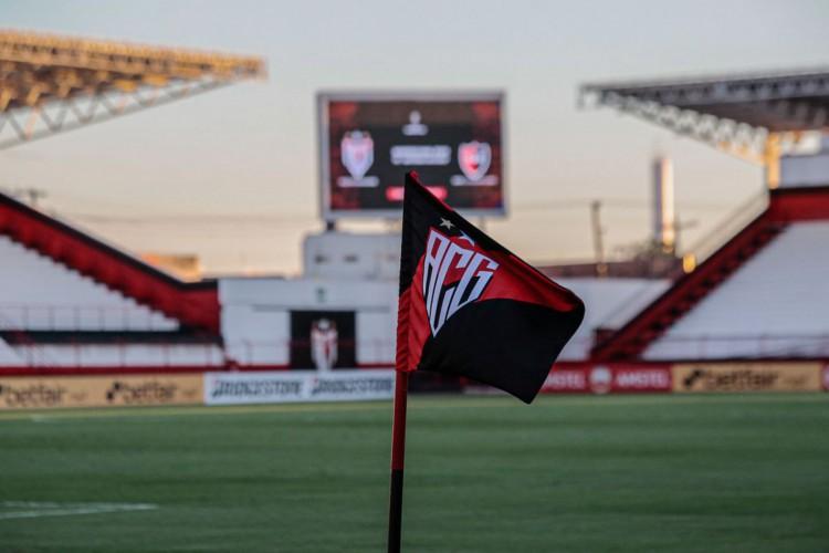 Atlético-GO vence primeiro jogo internacional de sua história (Foto: Burno Corsino)