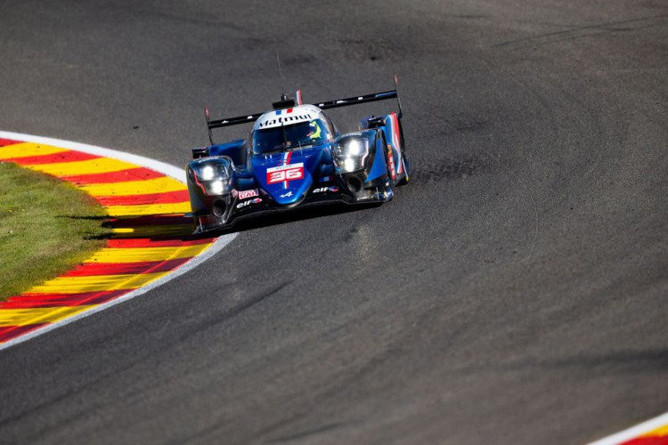 36 Negrao André (bra), Lapierre Nicolas (fra), Vaxivière Matthieu (fra), Alpine Elf Matmut, Alpine A480 - Gibson, action during the Prologue of the 2021 FIA World Endurance Championship on the Circuit de Spa-Francorchamps, from April 26 to 27 in Stavelot, Belgium - Photo Joao Filipe / DPPI (Foto: Joao Filipe)