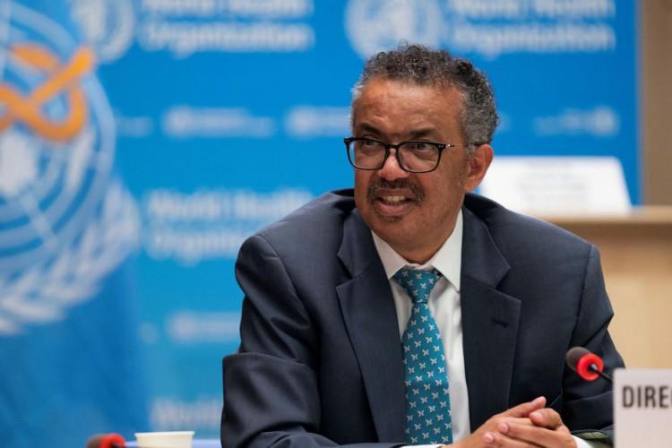 Diretor-geral da OMS, Tedros Adhanom (Foto: Reuters/Christopher Black/OMS)