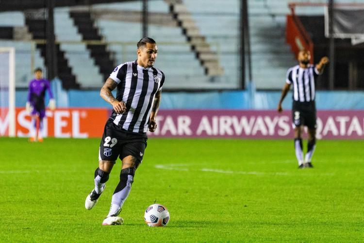 Vinícius Vina será titular do Ceará no jogo de hoje diante do Bahia, pela Copa do Nordeste; veja como assistir à transmissão ao vivo e a provável escalação (Foto: Fausto Filho/ Ceará SC)
