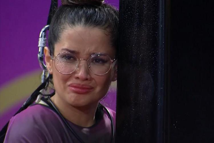Juliette desiste da última prova de resistência do BBB 21 (Foto: Reprodução/ Rede Globo)