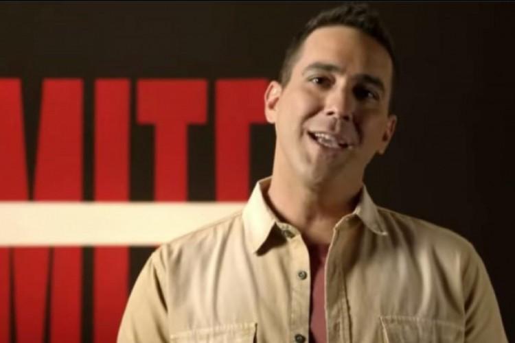"""André Marques apresentador do programa """"No Limite"""". (Foto: Reprodução/ Instagram)"""