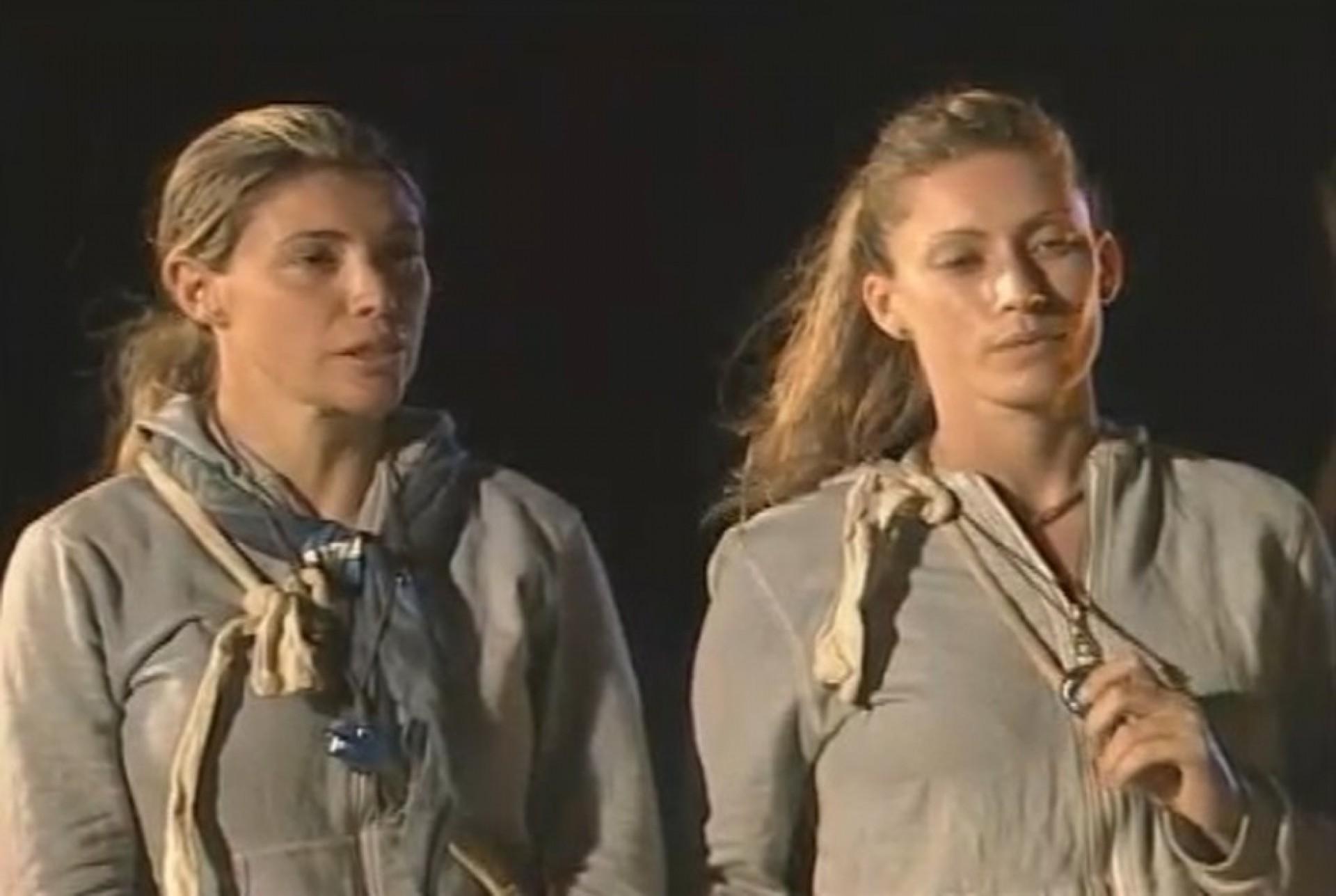 Desistência em 2009 da dupla Denise e Sibele
