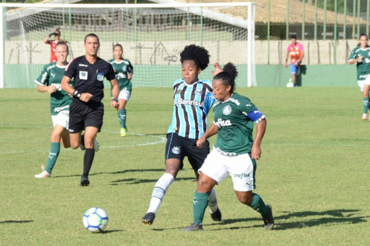 Entre os jogos desta segunda, 3 de maio, destaque para Palmeiras e Grêmio pelo Campeonato Brasileiro Feminino  (Foto: Flickr / SE Palmeiras)