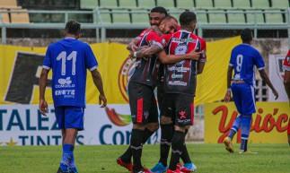 Horizonte ,CE, BRASIL, 02.05.2021: Ferroviário 4 x 0 Crato. Campeonato Cearense 2021 - Estádio Domingão - Horizonte.   (Foto: Lenilson Santos/Ferroviário AC).