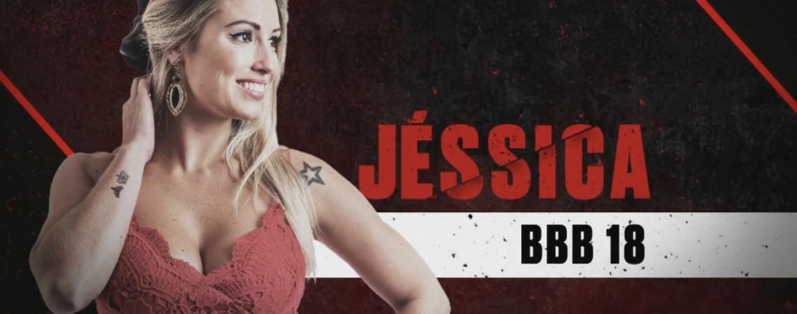 Jéssica Mueller, integrante do BBB18, é uma das participantes do