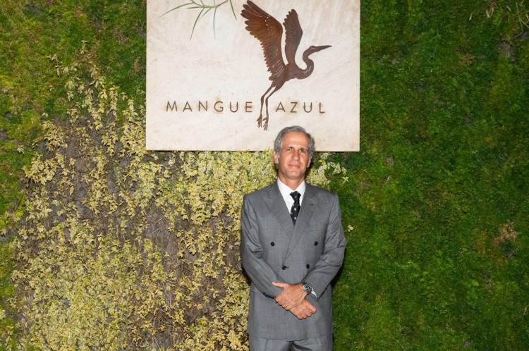 André Bichucher, empresário do restaurante Mangue Azul