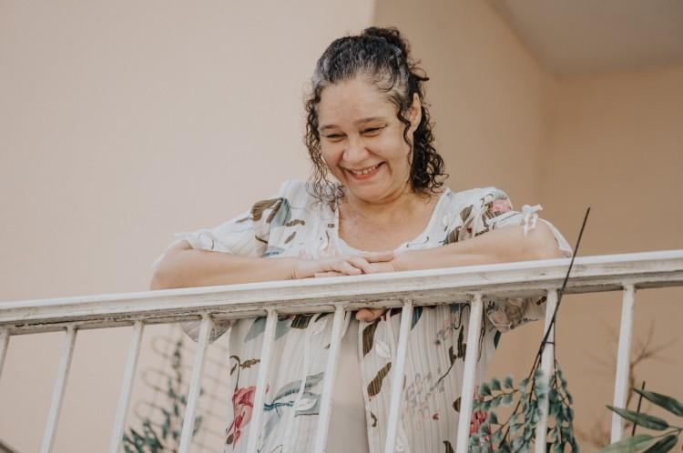 A serenata da senhora Tuty Osório foi um presenta da filha