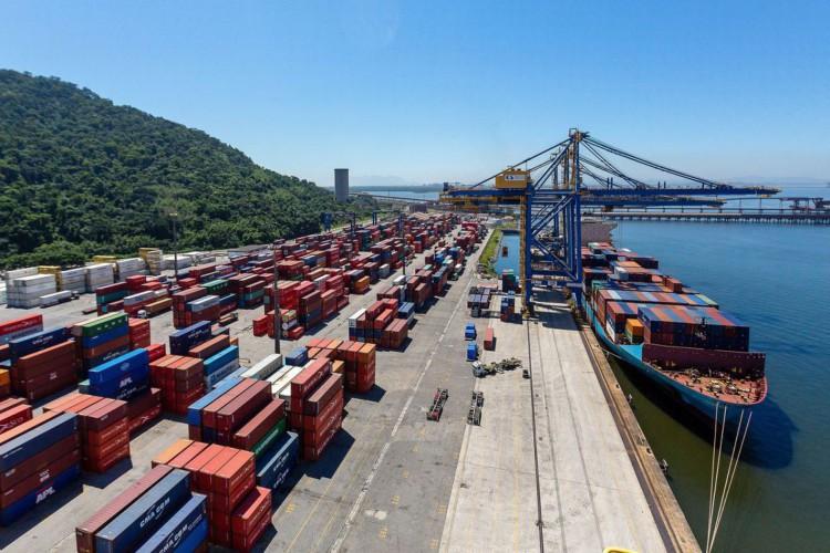 Programa de Incentivo à Cabotagem, BR do Mar,Portos, porto (Foto: Diego Baravelli/MInfra)