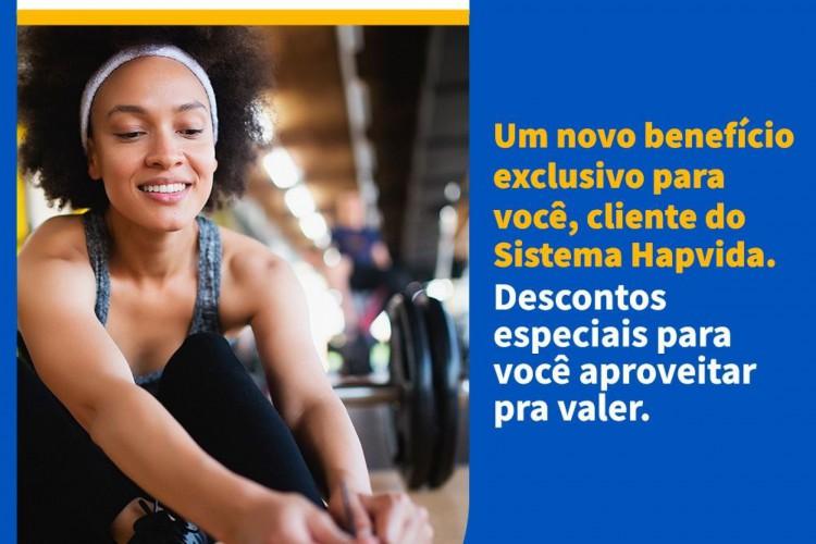 Campanha de divulgação do Clube de Vantagens Hapvida (Foto: Divulgação)