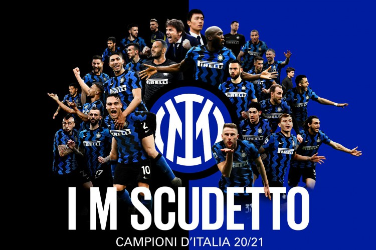 A Inter de Milão voltou a conquistar a Série A após 11 anos, encerrando a hegemonia da rival Juventus (Foto: Divulgação / Inter de Milão)