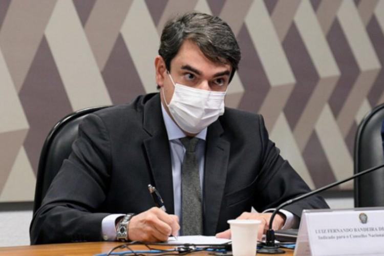 Luiz Fernando Bandeira de Mello Filho, conselheiro do CNJ (Foto: Agência Senado)