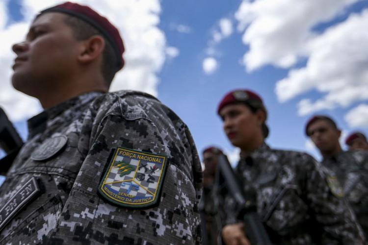 Cerimônia de inauguração da sede do Batalhão Escola de Pronto Emprego (BEPE) da Força Nacional, como parte das comemorações do XIV aniversário de criação da Força Nacional. (Foto: Marcelo Camargo/Agência Brasil)