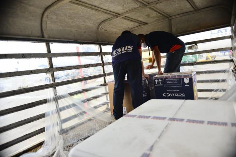 Ministério da Saúde orientou aos estados e municípios para aplicarem as duas doses da vacina com 12 semanas de intervalo (Foto: Thiara Montefusco/Governo do Ceará)