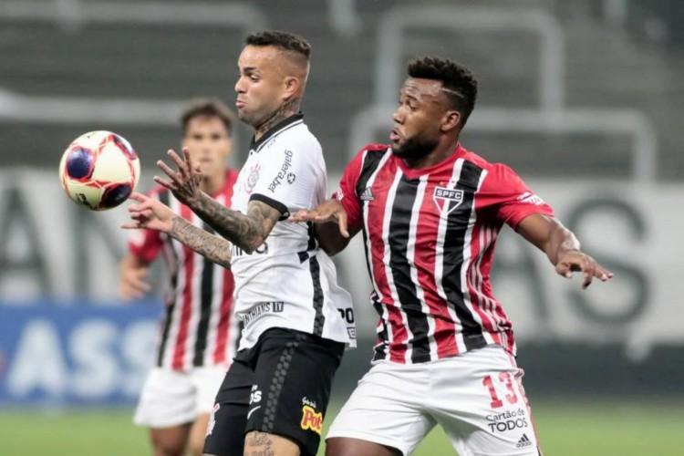 Corinthians e São Paulo empataram o clássico na Neo Química Arena (Foto: Rodrigo Coca / Agência Corinthians)