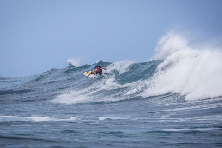 Surfe: Tatiana Weston-Webb chega às quartas em Margaret River (Foto: )