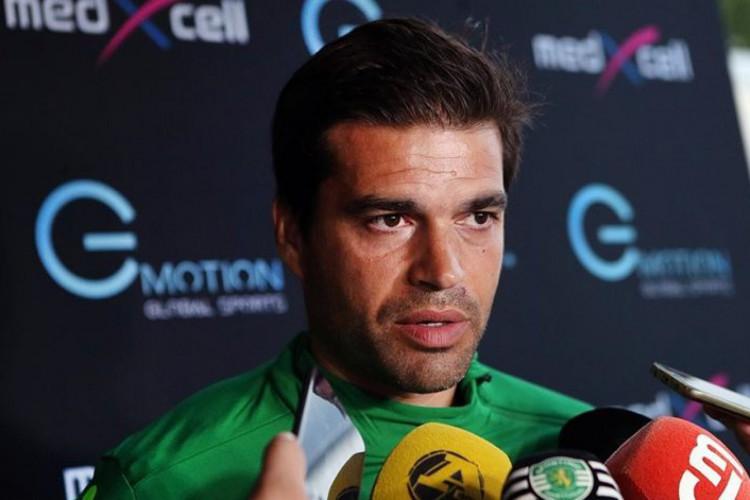 Tiago Fernandes, treinador português de 39 anos (Foto: JOSÉ CRUZ/SPORTING CP)
