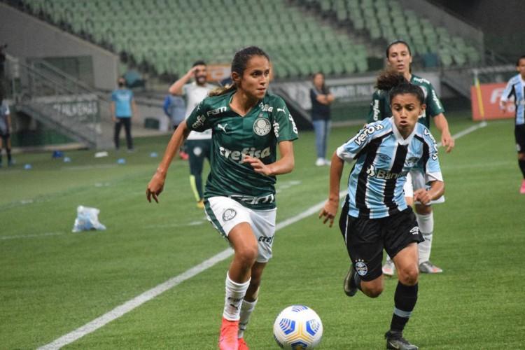 Palmeiras goleia Grêmio e assume liderança do Brasileiro Feminino (Foto: )