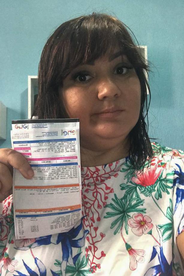 Patrícia Lima, 37, auxiliar administrativa, tomou várias medidas em casa para evitar grandes impactos com o  aumento da conta de luz